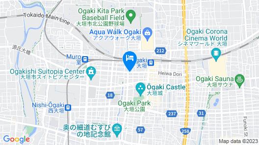 Quintessa Hotel Ogaki Map