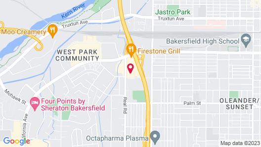 Days Inn by Wyndham Bakersfield Map