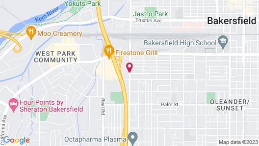 Red Roof Inn Bakersfield Map