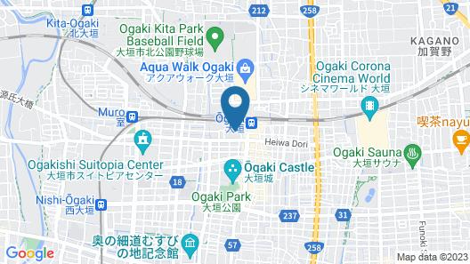 APA Hotel Ogaki-Ekimae Map