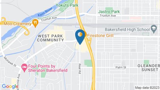 Ramada by Wyndham Bakersfield North Map