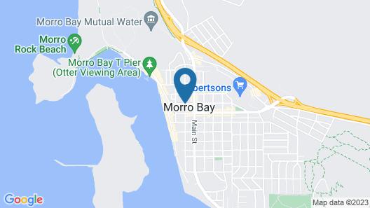 Pacific Shores Inn Map