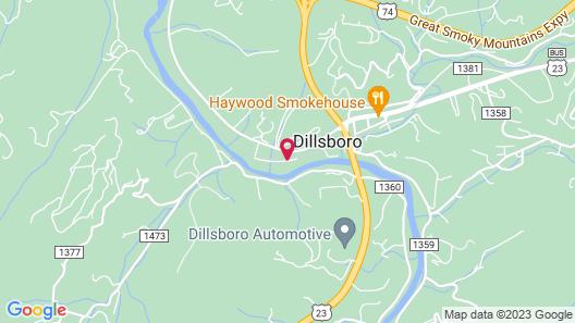 Best Western Plus River Escape Inn & Suites Map