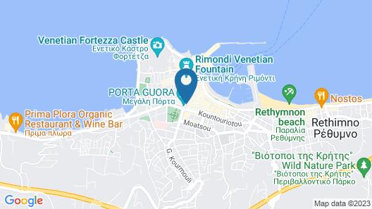 Byzantine Hotel Map
