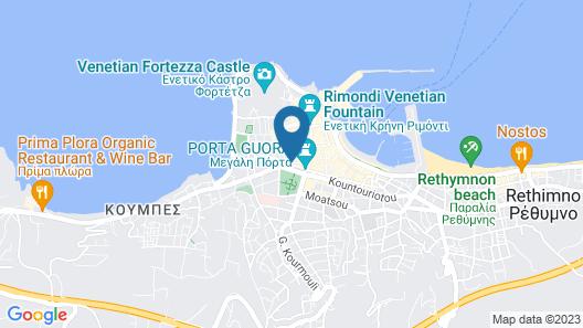 Petalo Suites Map