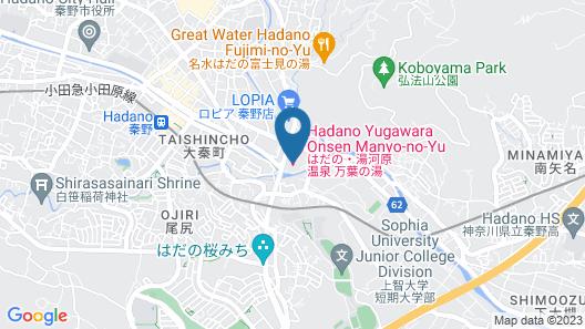 Hadano Manyo Club Map