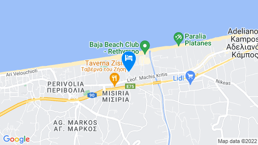Grecotel Creta Palace Map