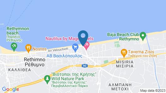 Pearl Beach Apartments Map