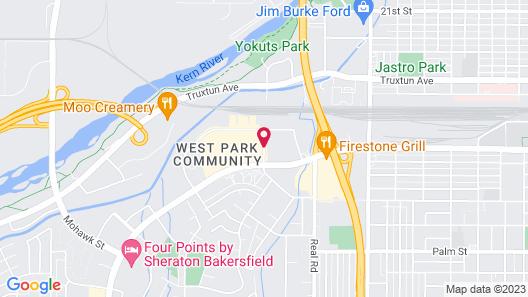 Residence Inn by Marriott Bakersfield Map