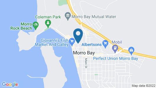 Rockview Inn and Suites Map