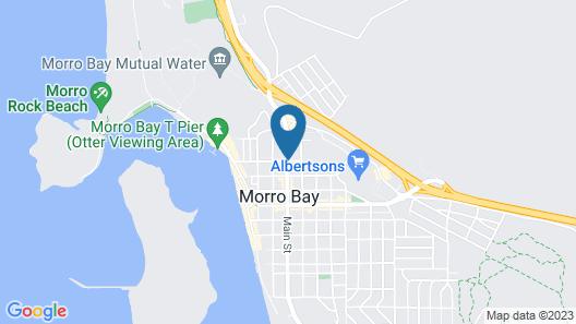 Harbor House Inn Morro Bay Map