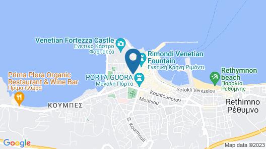 Neratze Hammam Suites Map