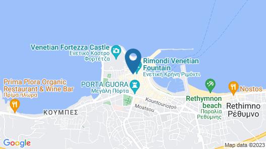 Rimondi Boutique Hotels Map