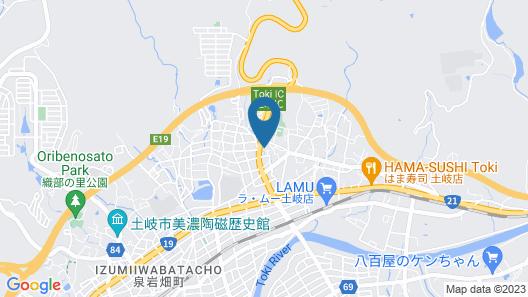 Family Lodge Hatagoya Toki Map