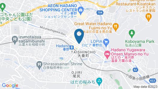 Hotel Takanoya Map
