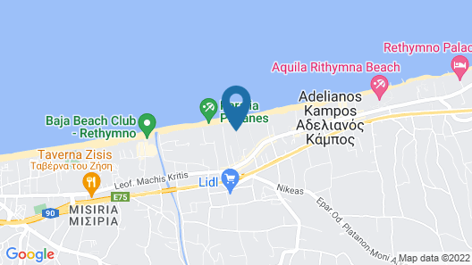 Atermono Boutique Resort Map