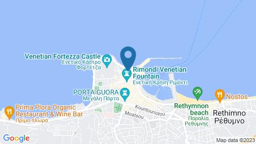 Hotel Ideon Map