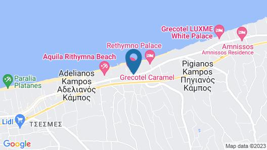 CARAMEL Grecotel Boutique Resort Map