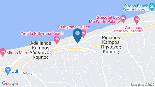 Jo-An Beach Hotel Map