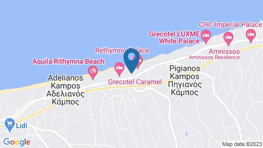 Rethymno Palace Map