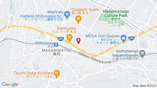 Takanoya Ryokan Map