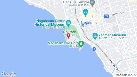 Hotel & Resorts NAGAHAMA Map