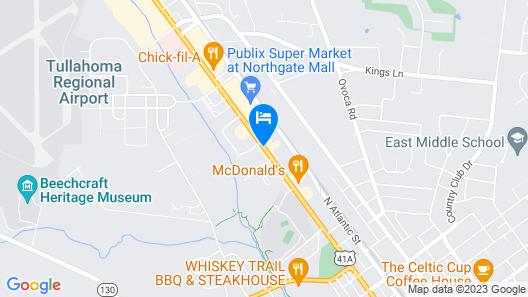 Executive Inn Map