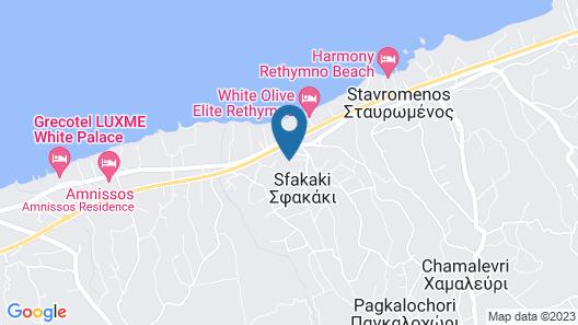 Villa Apollon Crete II Map