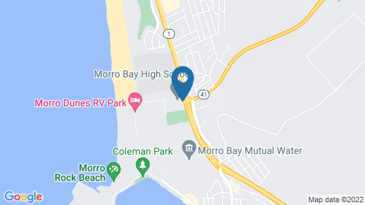 Morro Shores Inn And Suites Map