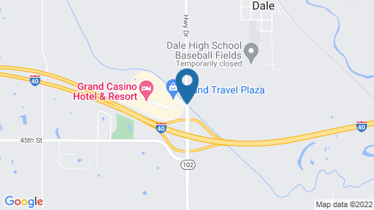 Grand Casino Hotel and Resort Map