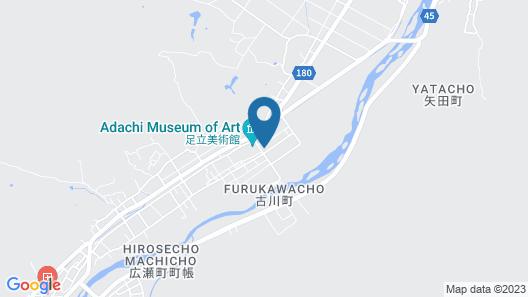 Saginoyusou Map