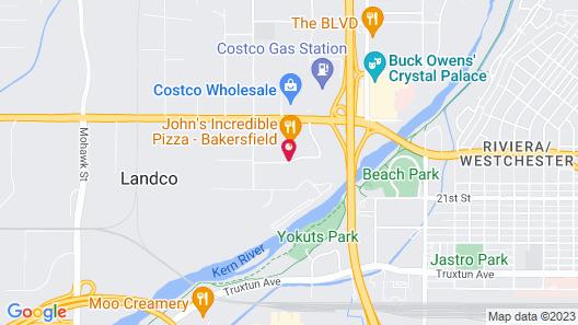 Hilton Garden Inn Bakersfield Map