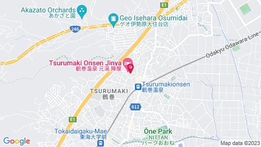Jinya Ryokan Map