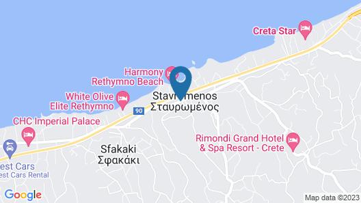 Thalassi Hotel Map