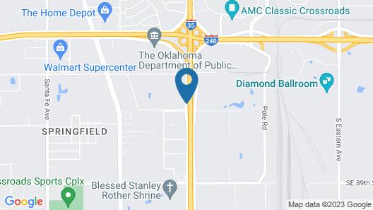 Days Inn by Wyndham Oklahoma City/Moore Map