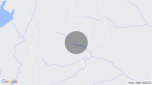 Banjo Bungalow Lakefront Cabin Map