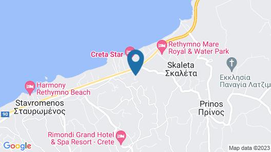 Oasis Scaleta Hotel Map
