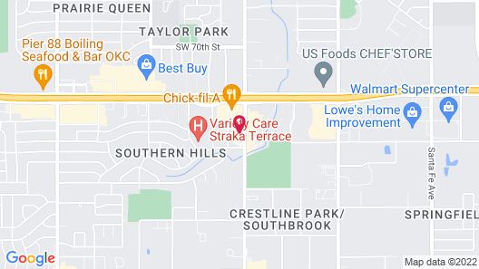 Hampton Inn & Suites Oklahoma City - South Map
