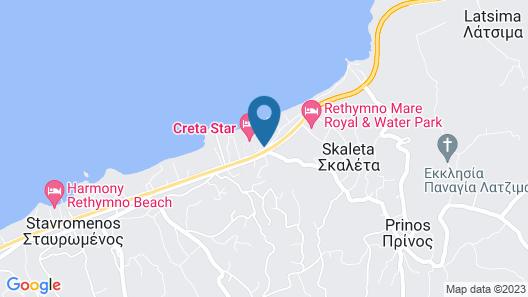 Creta Royal - Adults only Map