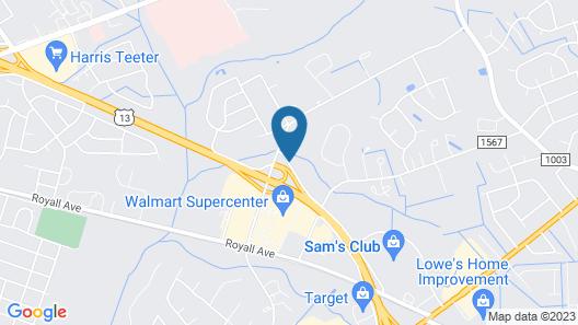 Home2 Suites by Hilton Goldsboro Map