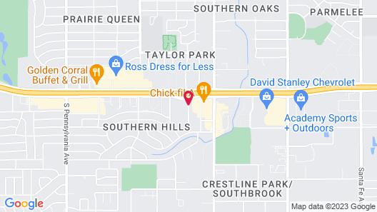 Comfort Inn Oklahoma City South - I-240 Map