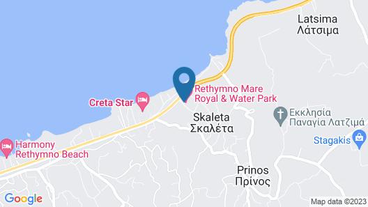 Rethymno Mare & Water Park Map