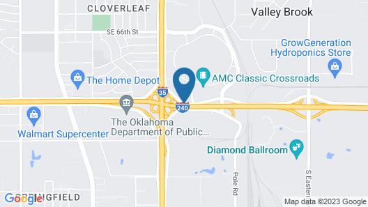 Residence Inn by Marriott Oklahoma City South Map