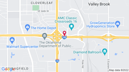 Wingate by Wyndham Oklahoma City South Map