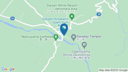 Daisenkan Map