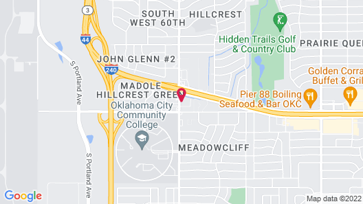 Quality Inn Oklahoma City South Map