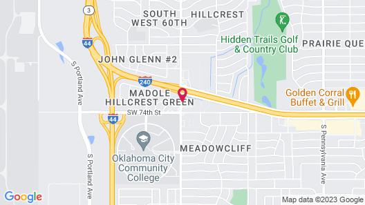 Motel 6 Oklahoma City, OK - Airport East Map