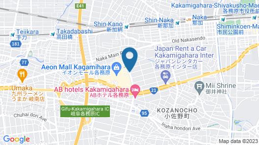 Hotel Fine Garden Gifu - Adults Only Map