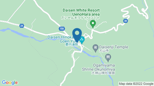 Itadaki Daisen Map