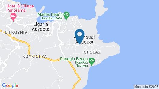 Villa Grande Crete Map
